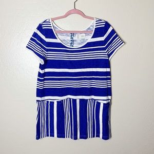 Anthropologie Saturday Sunday Stripe Tunic Top